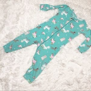 Carter's One piece Bodysuit dog pattern 12 month